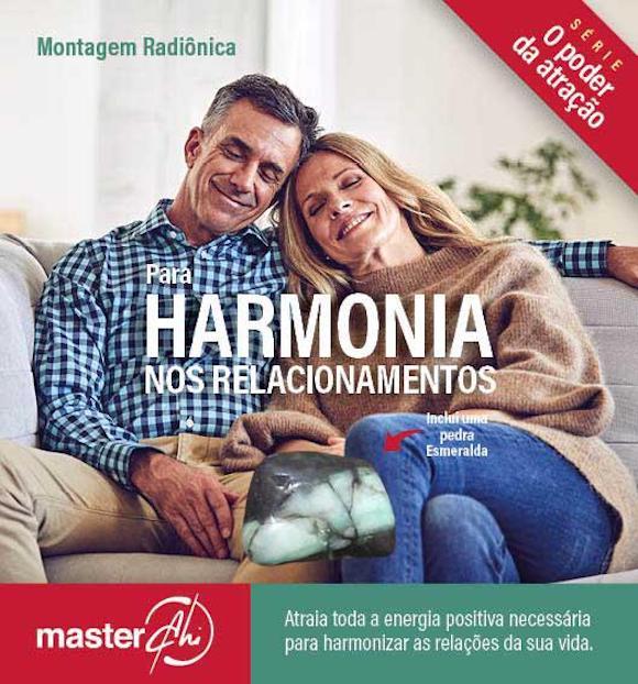 Kit de Montagem Radiônica para Harmonia nos Relacionamentos