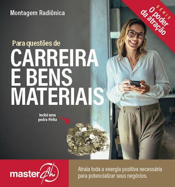 Kit de Montagem Radiônica Carreira e Bens Materiais