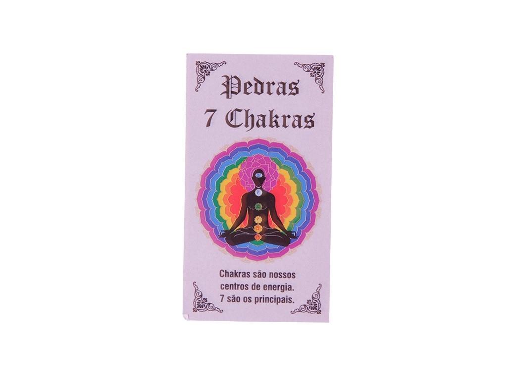 Kit de Pedras Naturais dos 7 Chakras