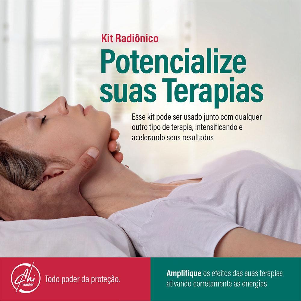 Kit de Placas Radiônicas Potencialize suas Terapias