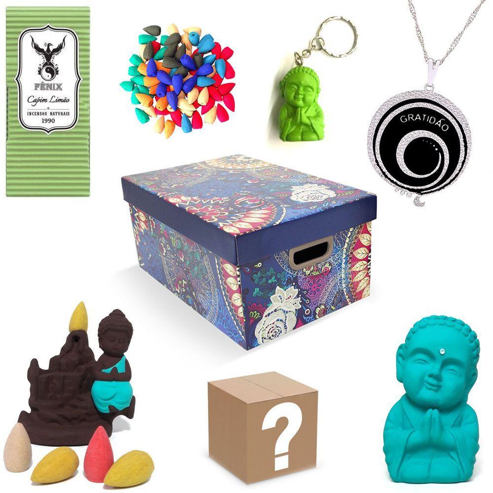 Kit de Produtos com Surpresa Box Zen (Gratidão)
