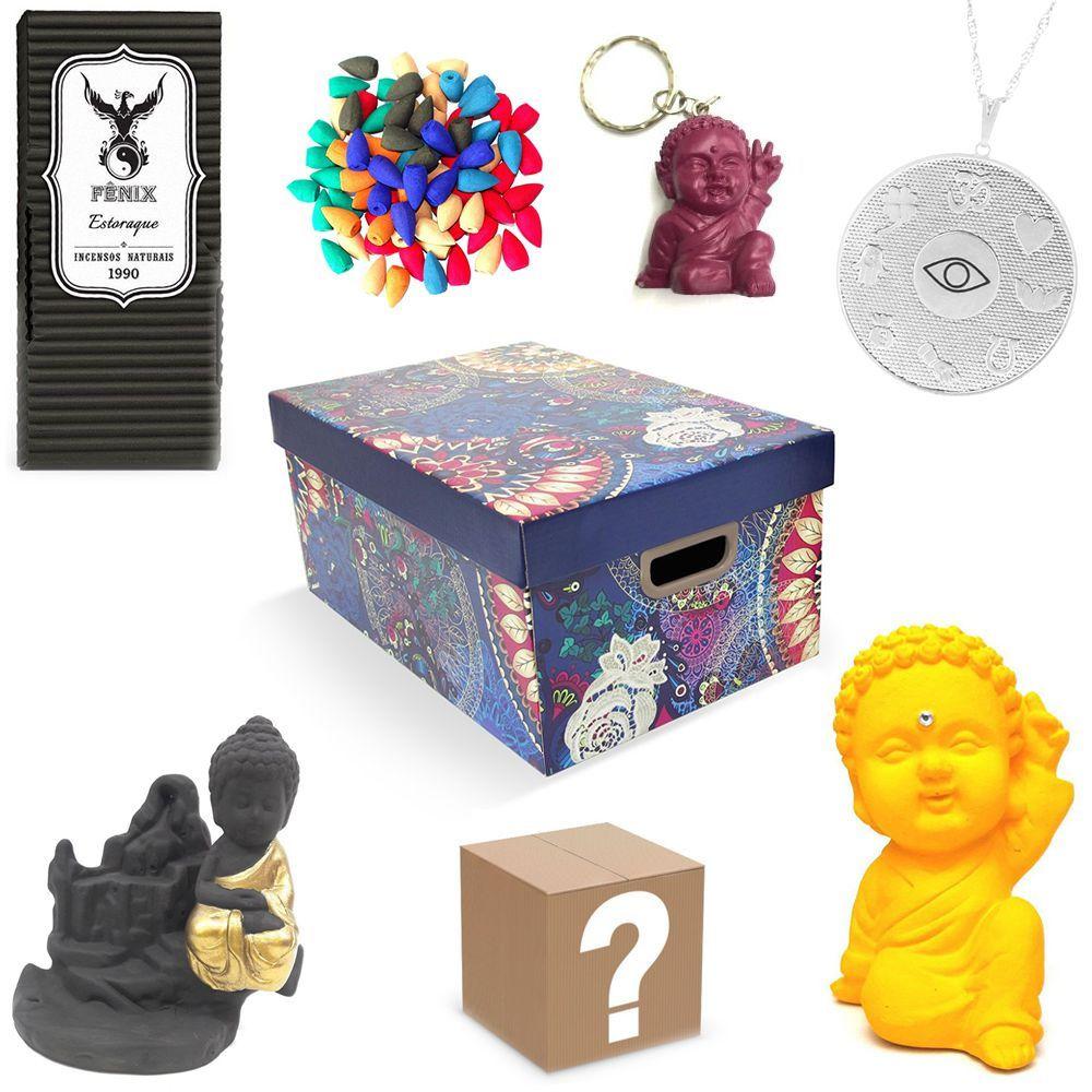 Kit de Produtos com Surpresa Box Zen (Paz e Amor)