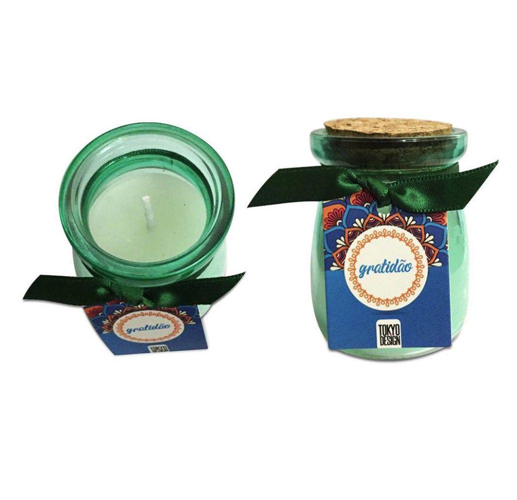Kit de Velas Aromáticas (Alegria, Prosperidade, Gratidão e Paz)