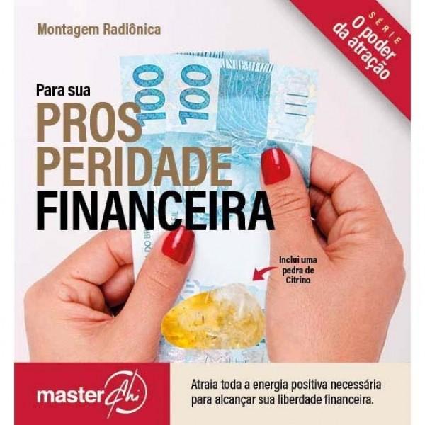 Kit de Montagem Radiônica para Prosperidade Financeira