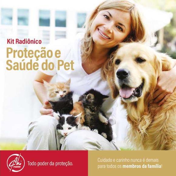 Kit Radiônico Proteção e Saúde do Pet