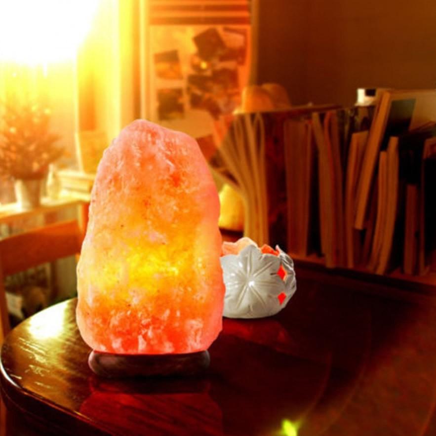 Luminária Sal do Himalaia (Grande)
