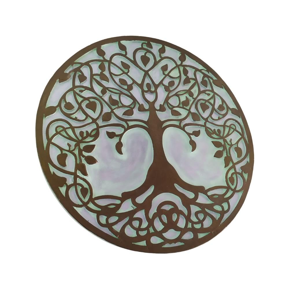 Mandala Árvore da Vida de Parede (35cm)