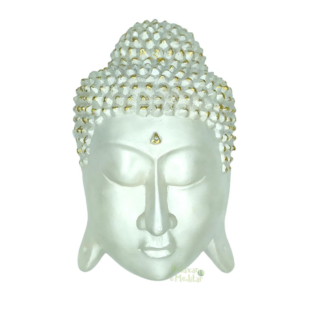 Máscara Artesanal Buda para Pendurar (20cm)