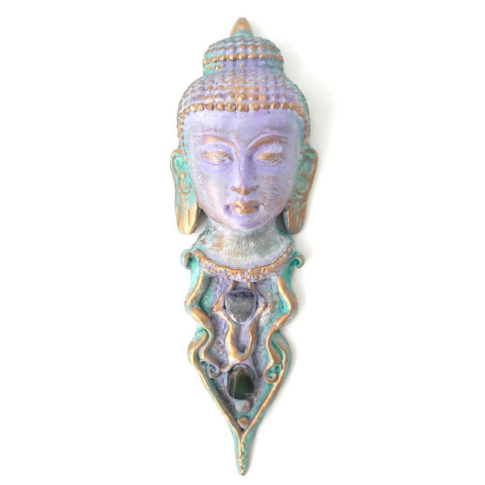 Máscara Buda Nirvana com Pedras (26cm)