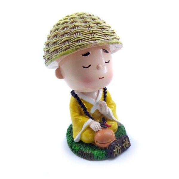 Monginho Meditando Benção (10cm)