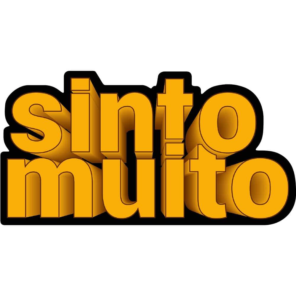 Palavra Decorativa em MDF Sinto Muito 3D (Ho'oponopono)