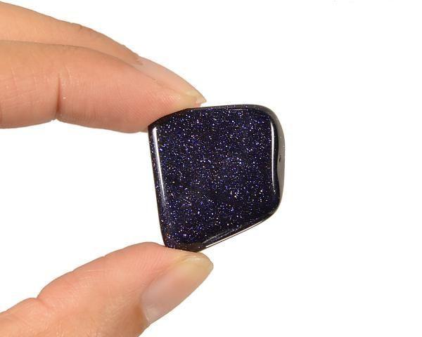 Pedra Estrela Azul Rolada (1,5 a 2 cm)
