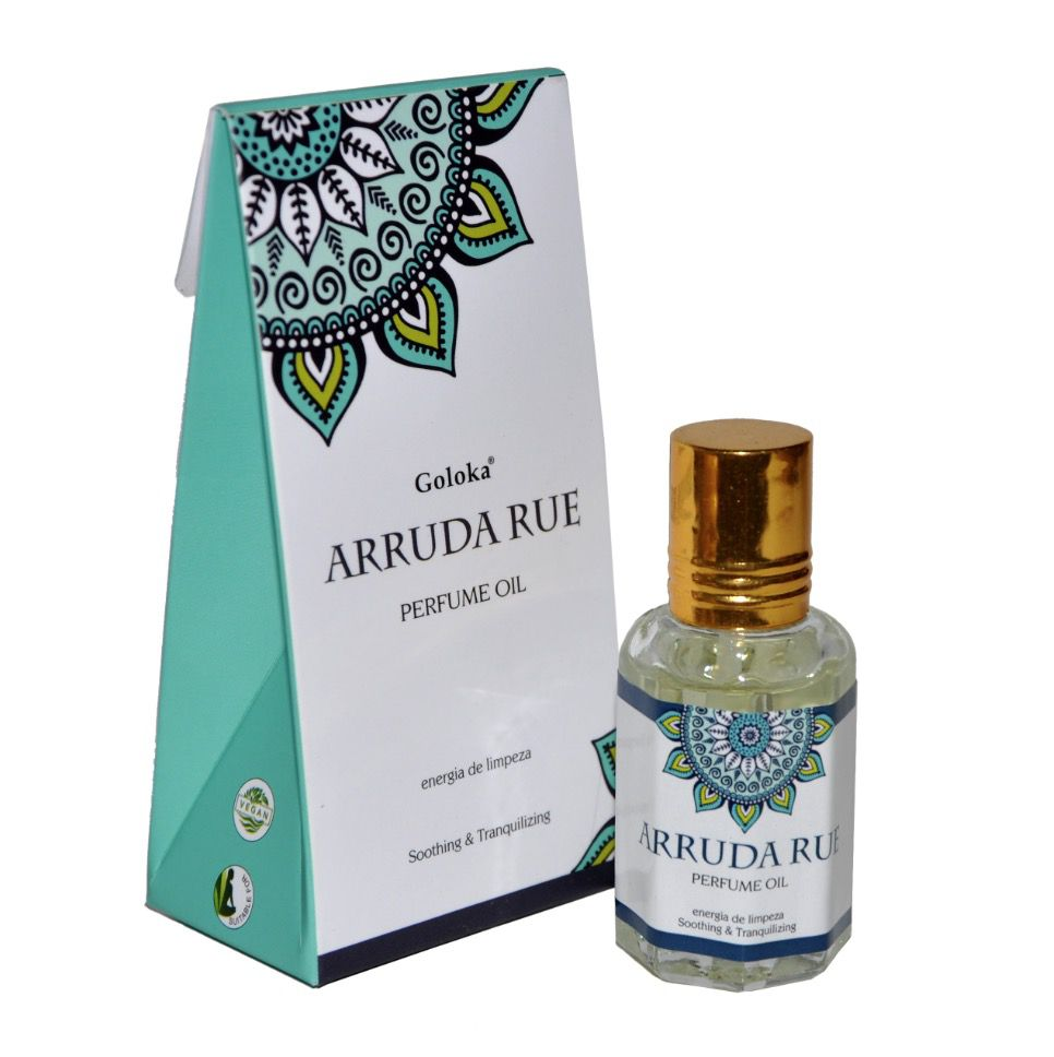 Perfume Indiano Goloka Arruda Rue (10ml)