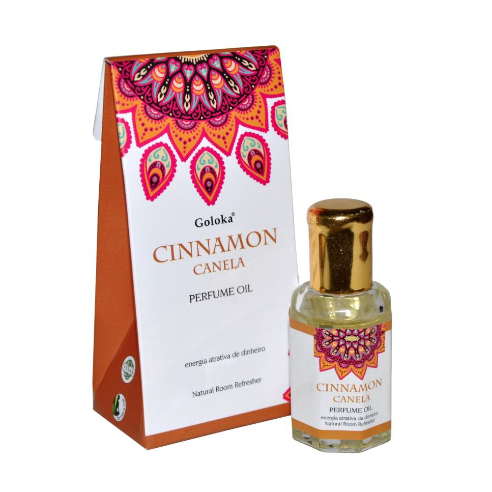 Perfume Indiano Goloka Canela (10ml)