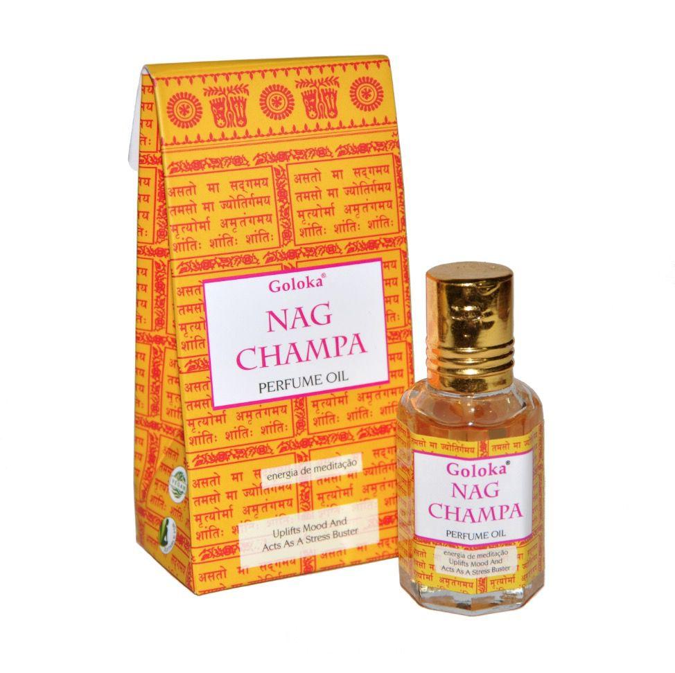 Perfume Indiano Goloka Nag Champa (10ml)