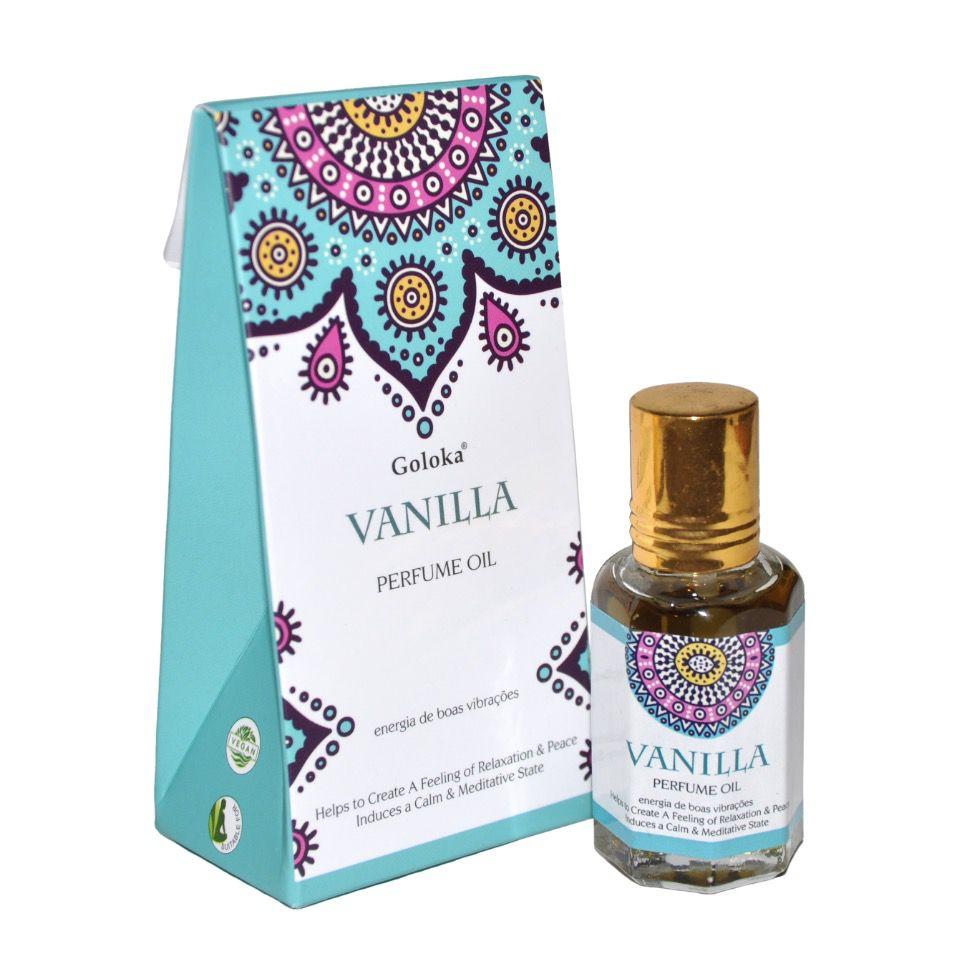 Perfume Indiano Goloka Vanilla (10ml)