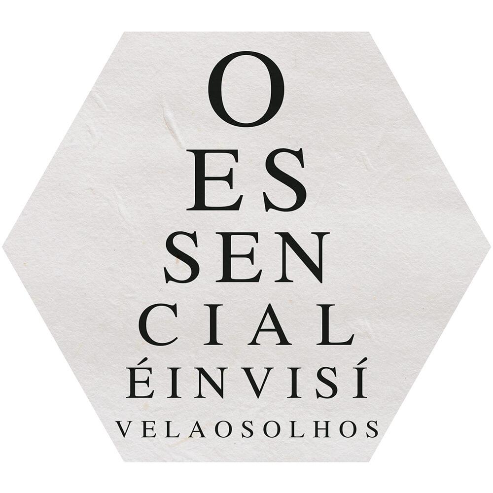 Placa Decorativa O Essencial é Invisível aos Olhos (25x22cm)