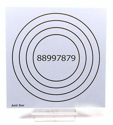 Placa Radiônica Anti Dor (PVC)