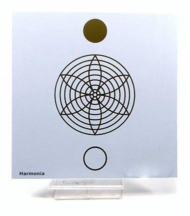 Placa Radiônica Harmonia (PVC)