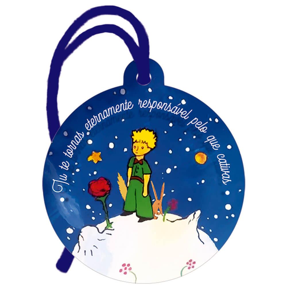 Placa TAG em MDF Pequeno Príncipe (8x9cm)