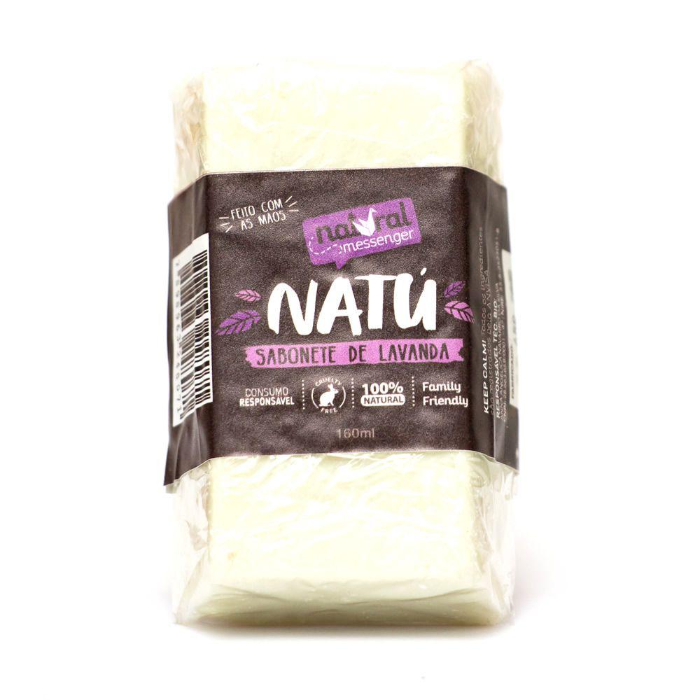 Sabonete Hidratante de Lavanda Natural Messenger (160g)