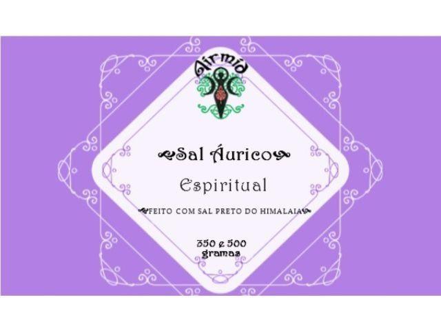 Sal Áurico Limpeza Espiritual (350g)