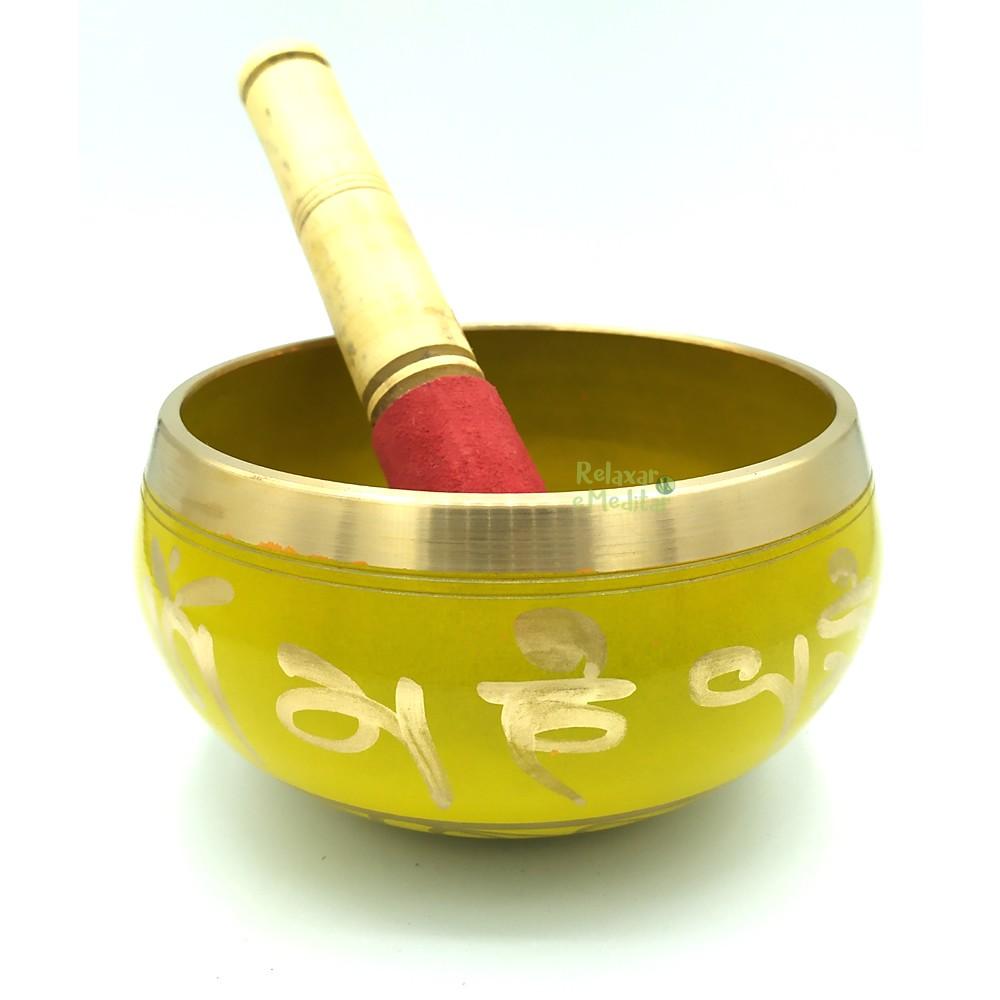 Tigela Tibetana 7 Metais Sagrados Orin (12cm)