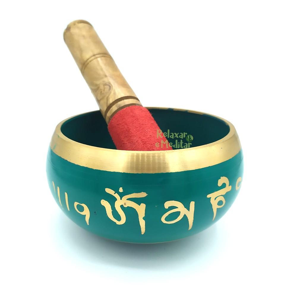Tigela Tibetana 7 Metais Sagrados Orin (13cm)