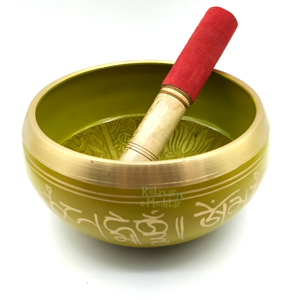 Tigela Tibetana 7 Metais Sagrados Orin (15cm)