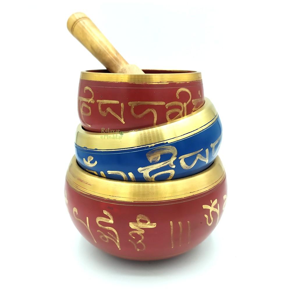 Tigela Tibetana 7 Metais Sagrados Orin (8cm)