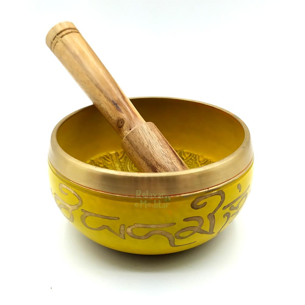Tigela Tibetana 7 Metais Sagrados Orin (9cm)