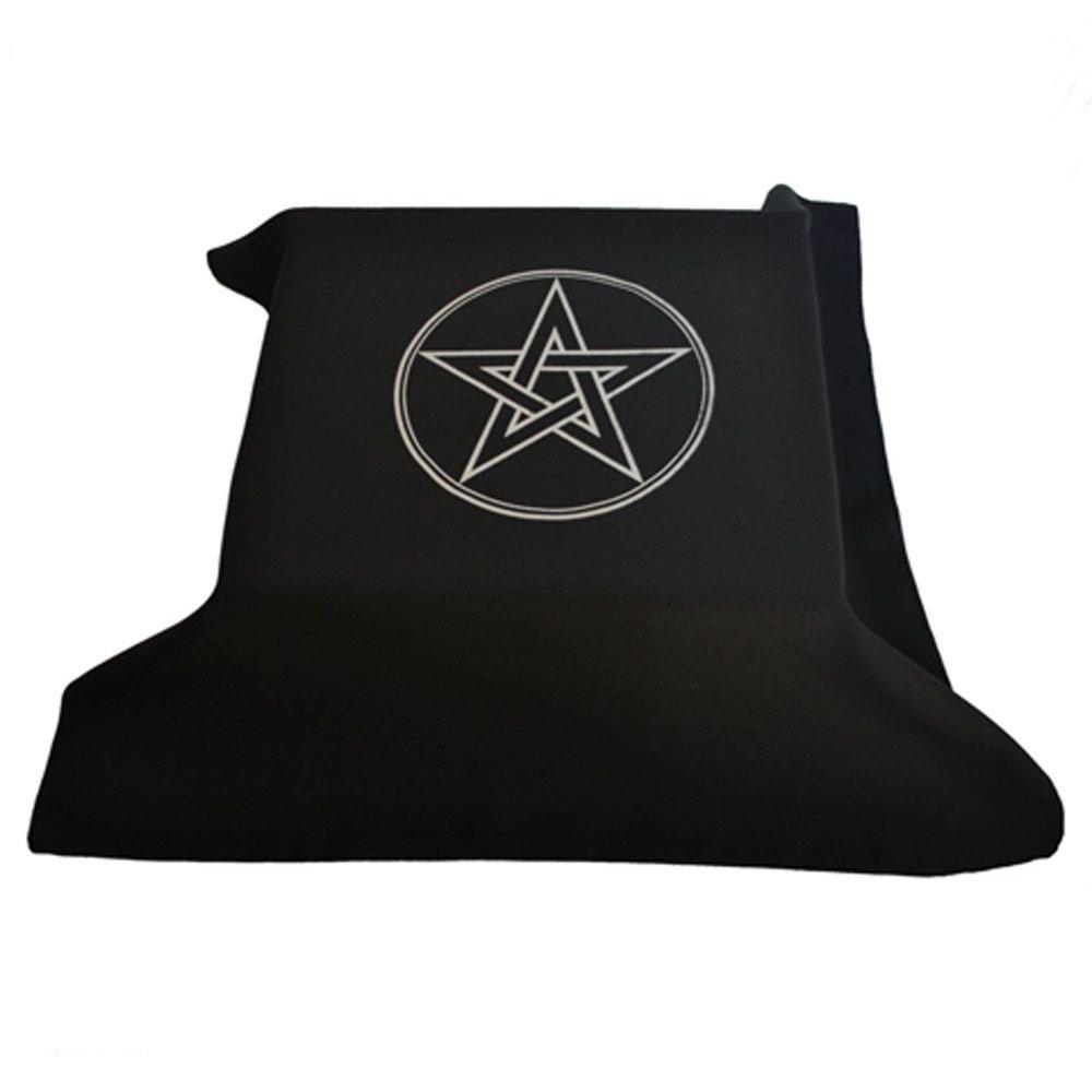 Toalha para Altar e Tarô Pentagrama (70x70cm)