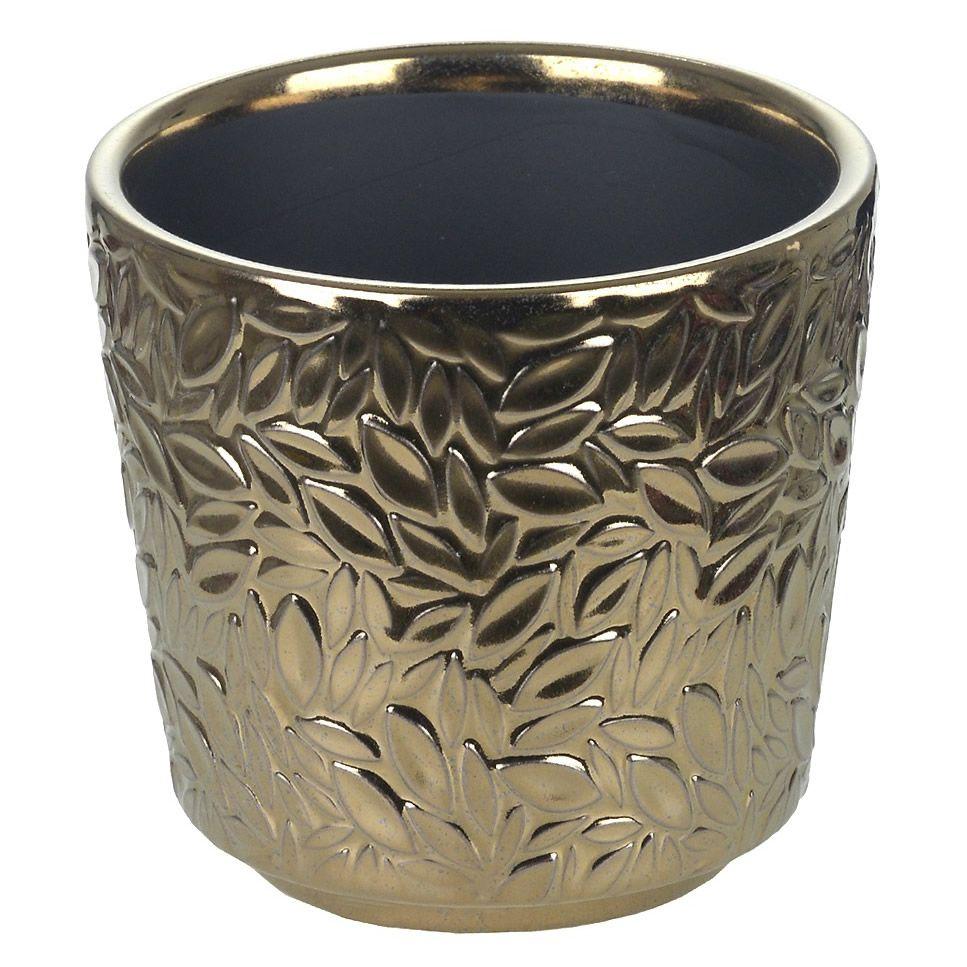 Vaso em Cerâmica com Árvore do Dinheiro (Cobre)