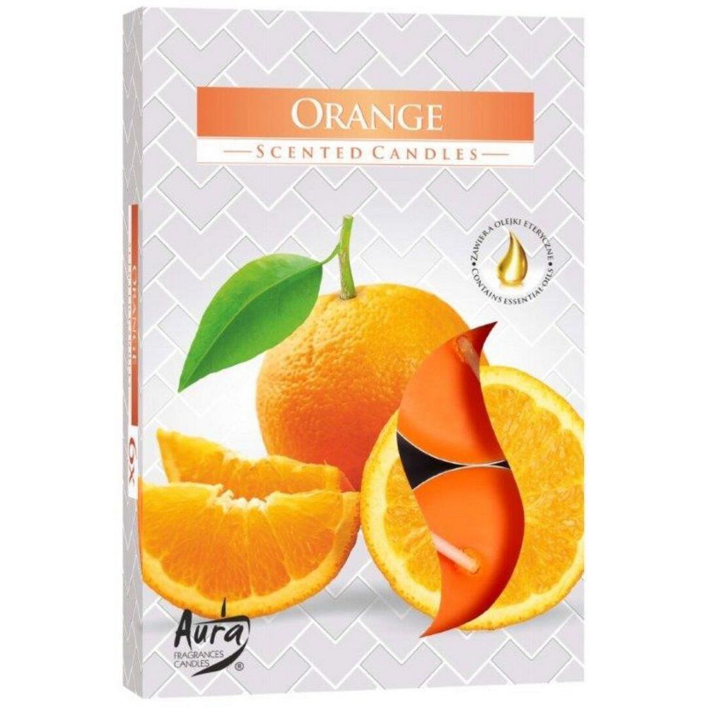 Vela Perfumada T'Light (Laranja)
