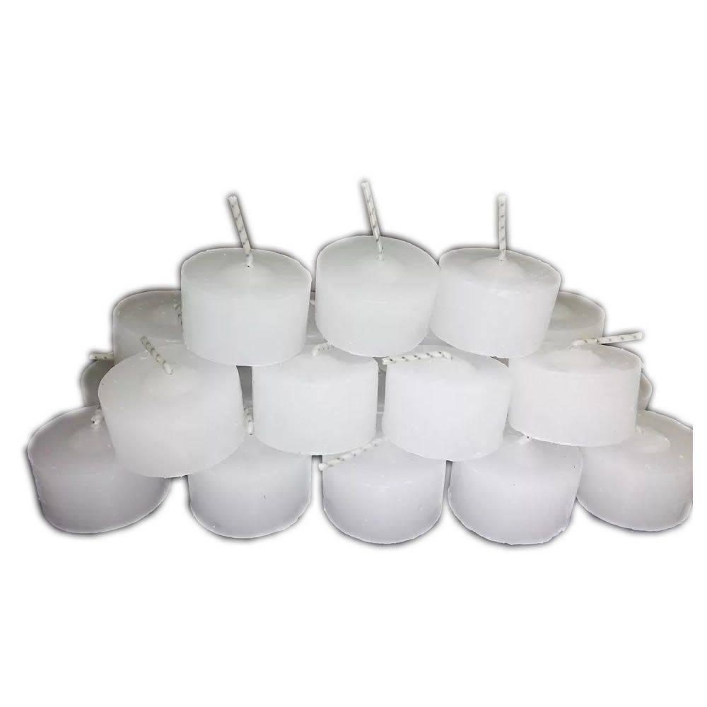 Vela Rechaud Branca (6 Unidades)