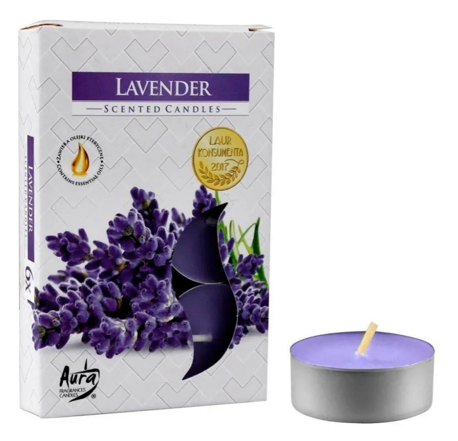 Vela Rechaud Perfumada T'Light (Lavanda)