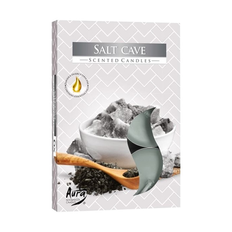 Vela Rechaud Perfumada T'Light (Salt Cave)