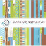 Coleção Bebê Botões Menino
