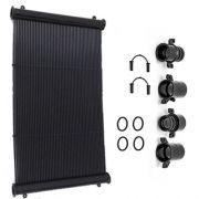 Placa Coletor Aquecedor Solar Piscina TekSol-20 (2,00x0,33M)