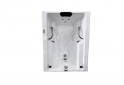 Banheira Hidro Rubi III COMPLETA - Jato de Hidro, LED (1,43x0,80)