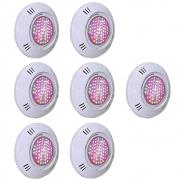 Iluminação 7 Leds para Piscina SMD 9W RGB Colorido - Sodramar