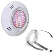 Iluminação Led Piscina SMD 9W RGB + Adaptador com Garras - Sodramar