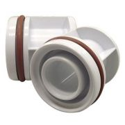 Kit Piscina 2 Adaptadores para Leds Tholz - Cano de 50mm Alvenaria