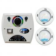 Kit 2 LED Piscina RGB Colorido COB + Central Wifi Sodramar