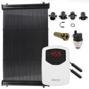 Kit Aquecedor Solar Piscina até 50m² ou 70.000 L