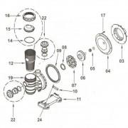 Kit Bomba BM50 1/2CV Sodramar - Tudo menos motor