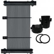 Placa Coletor Aquecedor Solar Piscina até 40m² ou 56.000 L - CMB AQUA