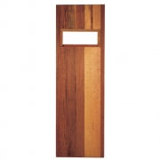 Porta de Madeira para Sauna Seca 1,90x0,60 - Sodramar
