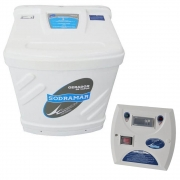 Sauna Vapor Universal Sodramar 6Kw + Quadro Digital - 6m³