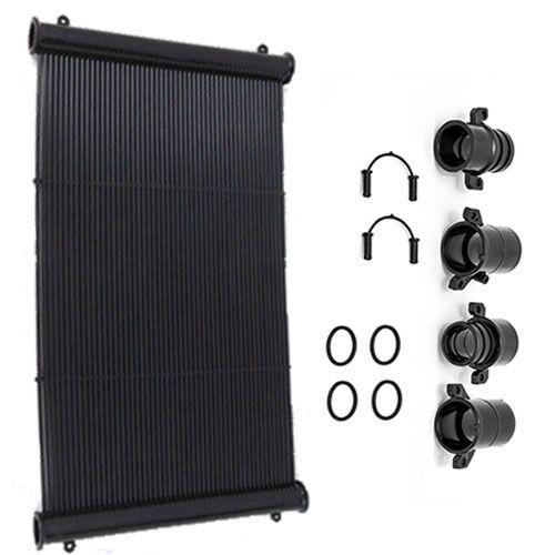 Placa Coletor Aquecedor Solar para Piscina (1m²)